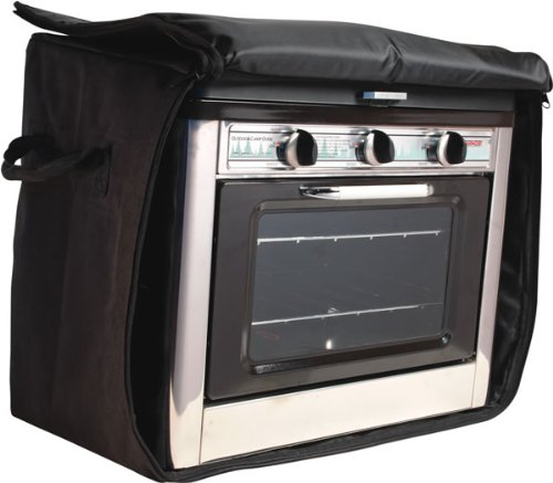 Camp Chef Outdoor Camp Oven Bag Fits C-Oven (Black) - Propane Camping Oven
