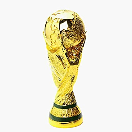 ca25af47878 Amazon.com: World Cup official replica trophy L size [same size ...