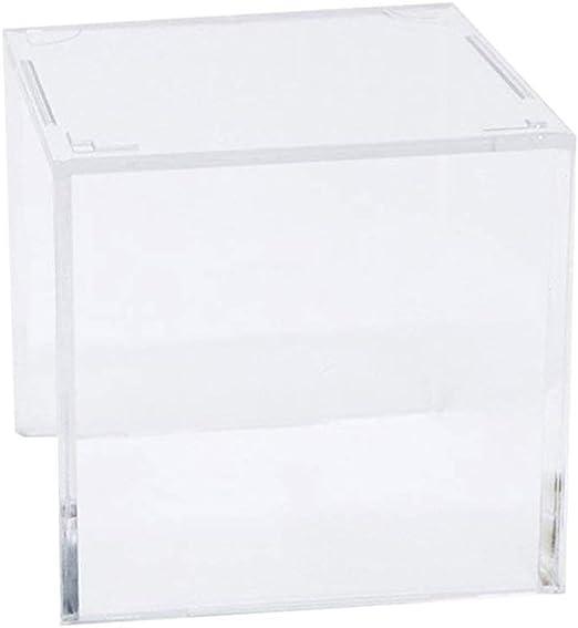 LIOOBO Caja de Almacenamiento Transparente de Cubo de Exhibición ...