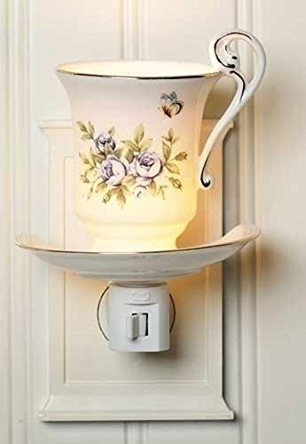 e Roses Teacup Night Light ()
