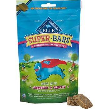 Blue Buffalo Super Bars Cranberry and Pumpkin Dog Biscuits, My Pet Supplies