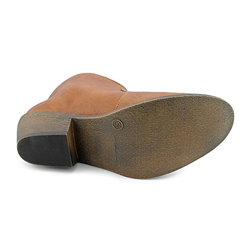Materiaal Damesmode Sarget Amandel Teen Enkel Mode Laarzen Bruin