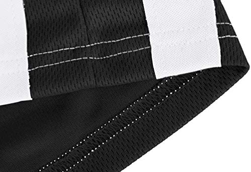 MAGNIVIT Men's Lightweight Athletic Pants Mesh Sweatpants Open Bottom with Pockets