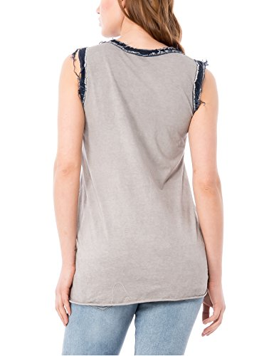 Isabella Roma - Canotta,  pack, Top Mujer Gris