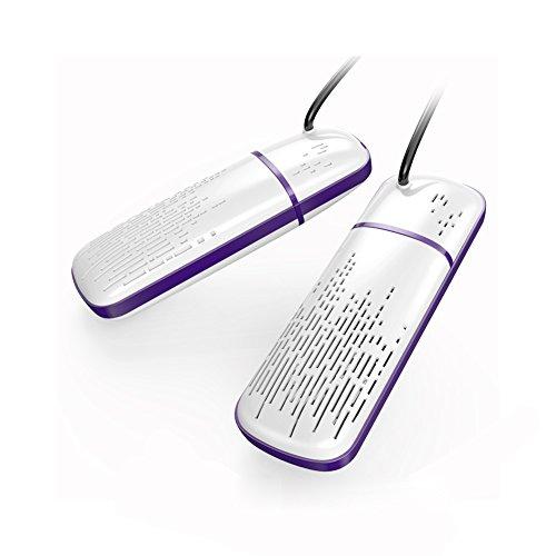 HaloVa Shoe Dryer Electric Footwear Dryer Double Heater Retractable Boot Warmer, Deodorizing Sterilizing, - Electric Footwear