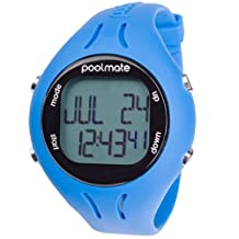 Swimovate PoolMate2 Open Water Watch Speed, Distance and Lap Computer for Swimmers, Blue