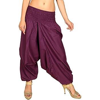 Amazon.com: Sarjana Handicrafts - Pantalones de algodón con ...
