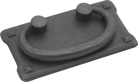 [Hickory Hardware PA0721-BMA Old Mission Ring Pull, 1-1/2