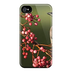Top Quality Cases Covers For Iphone 6 Cases With Nice Waxwing Bird Appearance