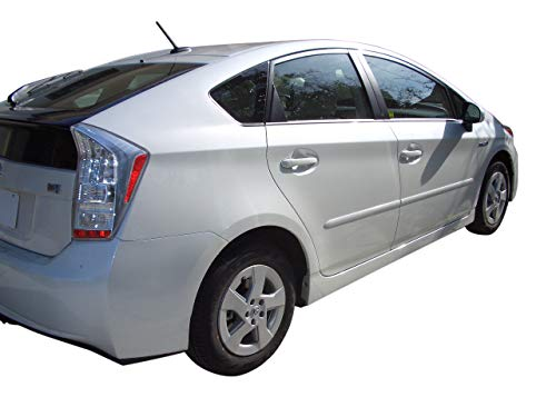 Body Side Moldings made for the Toyota Prius Painted in the Factory Paint Code of Your Choice 1F7
