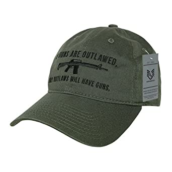 Rapid Dominance RapDom Outlaw Graphic Relaxed Mens Cap