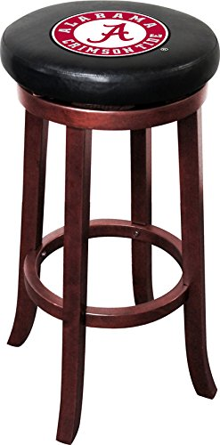 - Imperial Officially Licensed NCAA Furniture: Wooden Bar Stool, Alabama Crimson Tide