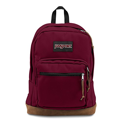 (JanSport Right Pack Laptop Backpack - Russet Red)
