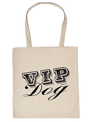 Mega schöne Einkaufstasche Baumwolltasche Tragetasche für Hundeliebhaber - VIP Dog Tier Tiere Tasche Hundebesitzer