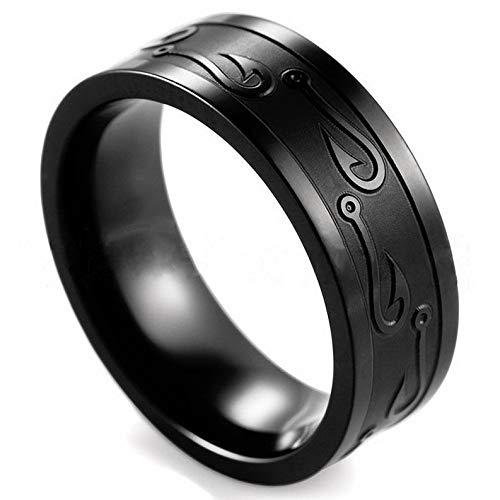 Tomikko Tungsten Stainless Steel Man Women Wedding Band Ring Black Gold Silver Size 7-13   Model RNG - 12611   10