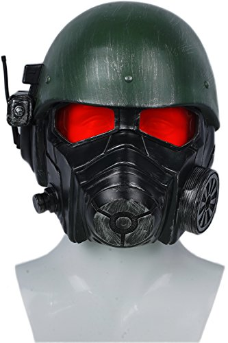 xcoser Veteran Ranger Helmet Resin Fallout Mask Halloween Cosplay Costume Accessory -