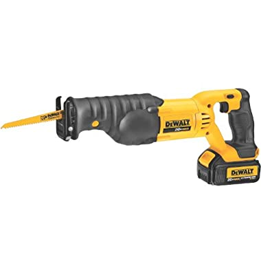 DEWALT DCS380L1 20-Volt MAX Li-Ion 3.0 Ah Reciprocating Saw Kit