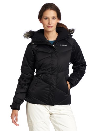 'D' Down Jacket, Black, Large ()