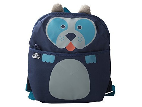 Built Ny Lunch Boxes - Built NY 5178563 Big Apple Buddies  Water Resistant Polyester Insulated Lunch Box Backpack, Delancey Doggie