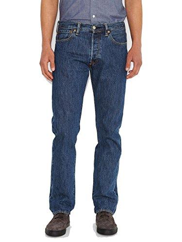 Levi's vaqueros hombre Pantalones 501 para Azul Stonewash qpxH18Rwt