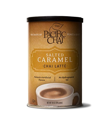 Chai Mix Canister - Pacific Chai Latte Mix Canister - Salted Caramel Chai - 10 oz