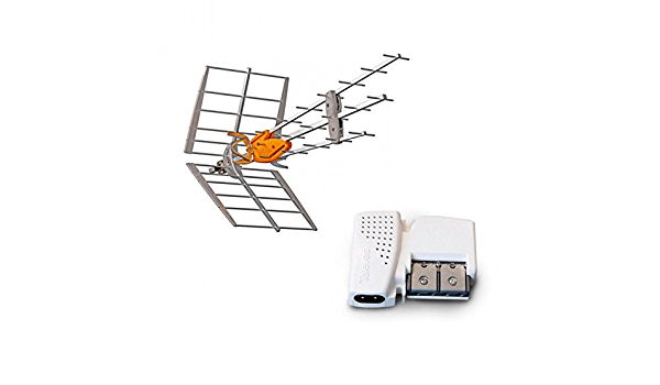 Televes Pack antena TNT DAT HD BOSS UHF + Amplificador ...
