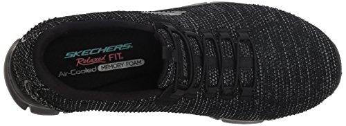 Negro Dream Skechers Empire Mujer Bbk Black Zapatillas World para 4gA55xqYw