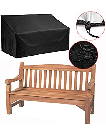 Astounding Amazon Com Bench Covers Patio Lawn Garden Gmtry Best Dining Table And Chair Ideas Images Gmtryco