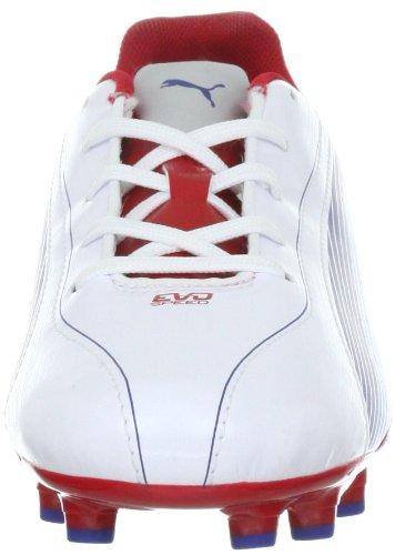 Chaussures Fg limoges Mixte Red white Sport ribbon Weiss De Jr 01 5 Evos Enfant Puma w4qFISI