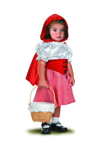 [LITTLE RED RIDING HOOD] (Halloween Costumes For 12 Month Old Girl)