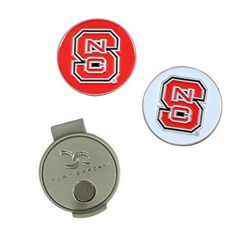 North Carolina State Clip - Team Effort NC State Wolfpack Hat Clip & 2 Ball Markers