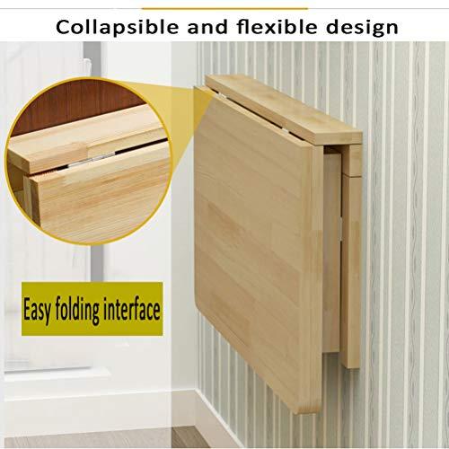 CZZZ Hopfällbar väggmonterad droppbladbord/hopfällbar hylla/hopfällbar hylla/passar för gör-det-själv olika platsbesparande