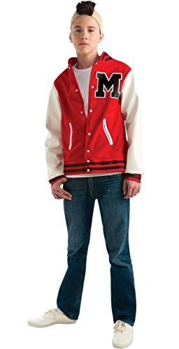 Glee Puck Football Player Teen Costume, Standard Color, One (Glee Costume)