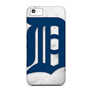 First-class Case Cover For Iphone 5c Dual Protection Cover Detroit Tigers