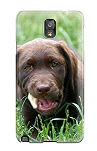 ITNnoCD2688zWvwa Faddish Labrador Retriever Puppies Case Cover For Galaxy Note 3