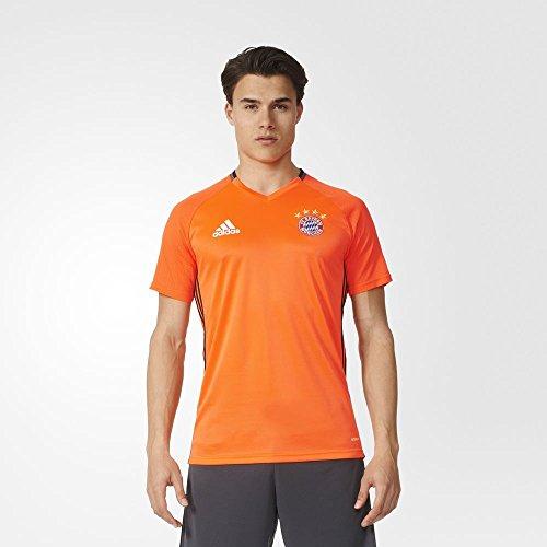 Adidas FC Bayern Munich Training Jersey-SOLRED (S)