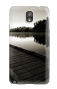 For Galaxy Note 3 Protector Case River Black And White Phone Cover