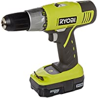 Ryobi 18-Volt One+ Lithium-Ion Drill Driver Kit P817 At A Glance