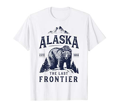 Bear Camp Shirt - Alaska T Shirt The Last Frontier Bear Home Men Women Gifts