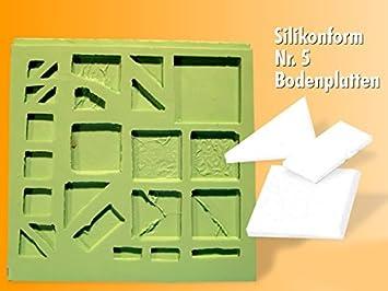 Silikonform Bodenplatten Selber Giessen Nr 5 Amazon De Spielzeug