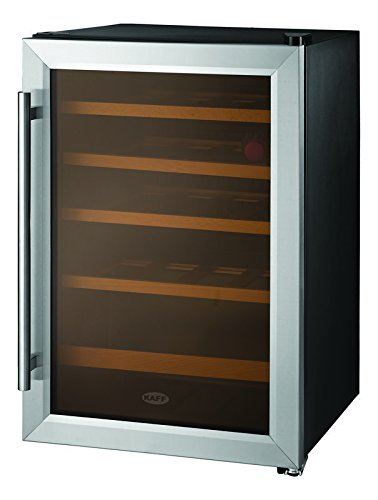 Kaff 50 L Single Door Desktop Fridge  KWC 62, Wine Cooler, Black  Refrigerators