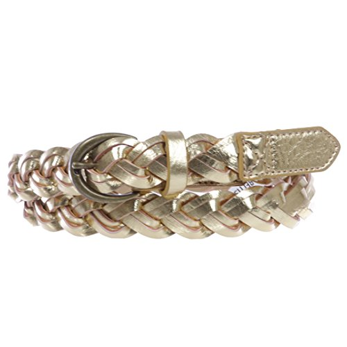 Braided Leather Gold - Women's 1