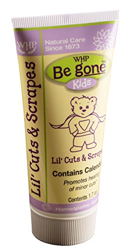 Be GoneTM Lil' Cuts & Scrapes Ointment, 2 Ounces. Natural Calendula Topical Ointment for The Skinned Knees, Scrapes, Scratches, and Cuts of Little Ones.