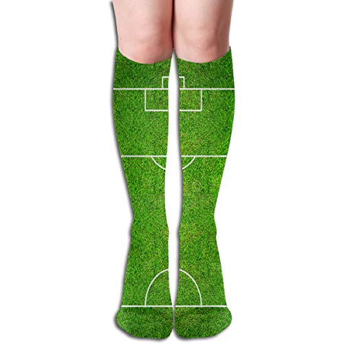 Socks Half Of Football Field Or Soccer Field Trendy Womens Stocking Decoration Sock Clearance For Girls