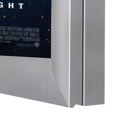 Silver light box display for movie posters 24 x 36 inch in for Lightbox amazon