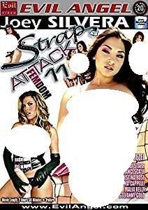 Strap Attack 11 Silvera Evil Angel By Roxy Jezel
