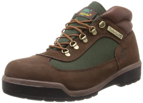 Timberland Men's Icon Field Boot,Brown Nubuck/Olive Green,13 M US ()