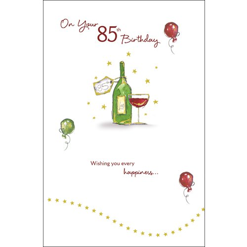 85th Birthday Card 194317 Amazoncouk Toys Games – 85th Birthday Cards