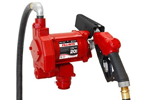 Tuthill Diesel Fuel Transfer Pump - Fill-Rite FR710VB 115V AC High Flow Pump, 1
