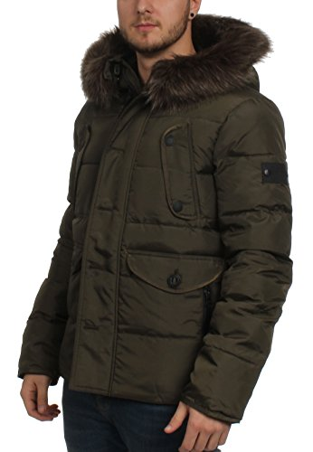 Scuro Superdry Chinook Nera Giacca Kaki qwSFw14T